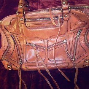 Brown Leather Rebecca Minkoff Bag